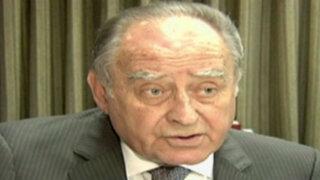 """Flores Aráoz sobre adelanto de elecciones: """"ya se hizo cuando Paniagua asumió la presidencia"""""""