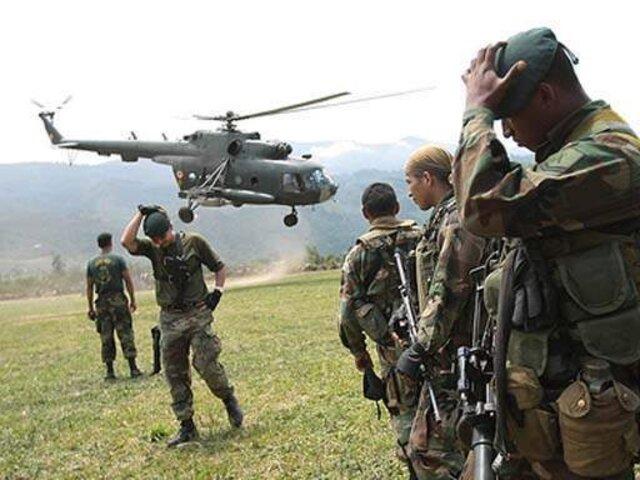 Ataque terrorista en base militar del Cusco dejó un herido de bala