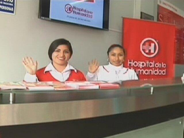Hospital de la Humanidad brinda atención a bajos costos en San Juan de Miraflores