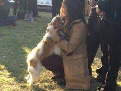 EEUU: mujer que superó ébola se reúne con su perro