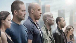"Revelan trailer oficial de película ""Rápidos y furiosos 7"""