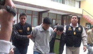 Capturan a dos sujetos que se dedicaban a la extorsión en Chincha