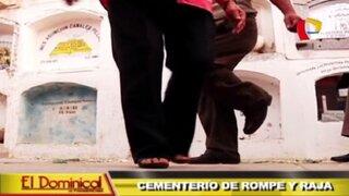 Cementerio de rompe y raja: diversas celebraciones en el camposanto