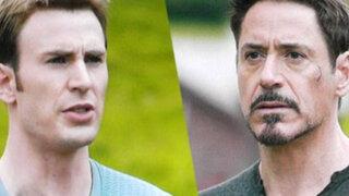 Capitán América contra Iron Man, filtran escena de 'Los Vengadores: La era de Ultron'