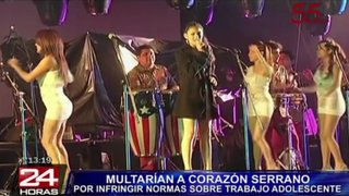 VIDEO: Corazón Serrano tendría que pagar 760 mil soles