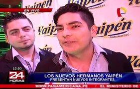 Hermanos Yaipén presenta a nuevos integrantes tras salida de Christian Domínguez