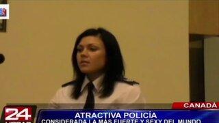 Mujer policía es considerada la más fuerte y sexy del mundo