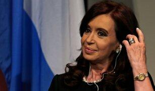 Cristina Fernández: 'Espero que los argentinos no me necesiten en 2019'
