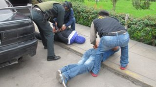 Cusco: capturan a dos integrantes de la banda 'Los Trujillanos'