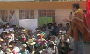Presidente Humala se comprometió a llevar programas sociales a zonas de Arequipa
