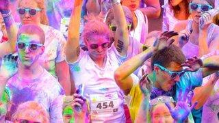 Carrera de colores: conoce esta peculiar manera de practicar atletismo