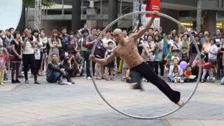 Mira el acto de este artista callejero que hizo historia en YouTube