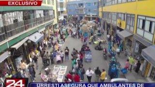 Drone de Panamericana Televisión registra hacinamiento en Mesa Redonda