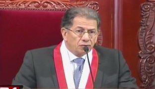 Óscar Urviola fue denunciado por anular sentencia de bonos agrarios