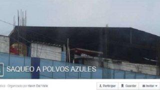 Anuncian por Facebook nuevos eventos para saquear centros comerciales