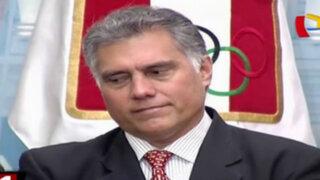 Presidente del IPD irá al Congreso por presuntos vínculos con Belaunde Lossio