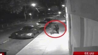 Difunden imágenes exclusivas del secuestro de una enfermera en Estados Unidos