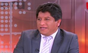 Congresista Josué Gutiérrez reitera que no conoce a Martín Belaúnde Lossio