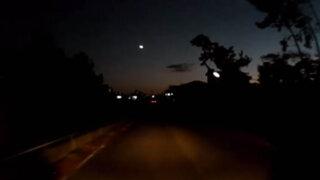 VIDEO: misteriosa esfera de luz recorrió por varios minutos el cielo de Japón