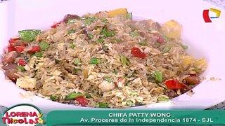 La modelo y empresaria, Patty Wong, nos prepara el verdadero arroz chaufa
