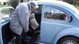 Uruguay: ofrecen un millón de dólares por viejo automóvil del presidente Mujica