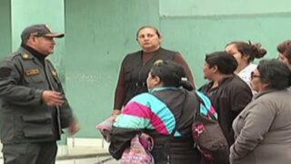 Violenta reyerta en penal Castro Castro alarmó a familiares de reclusos