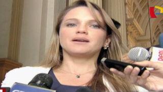 Desbalance patrimonial: Luciana León afirma que buscan desprestigiarla