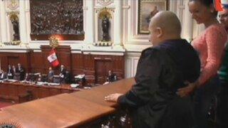 Renzo en el Congreso: Menor recibió el apoyo de la congresista Esther Capuñay