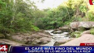 Turismo: conozca Villa Rica, el lugar que exporta el café más fino del mundo