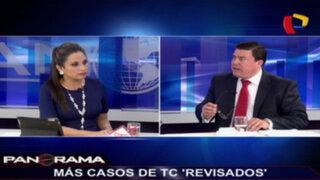 Aberración jurídica: denuncian más casos 'revisados' del TC
