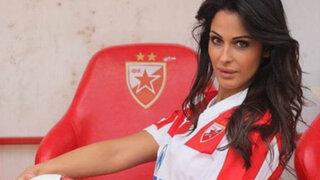FOTOS: conoce a Katarina Sreckovic, la bella reportera que distrae a los futbolistas