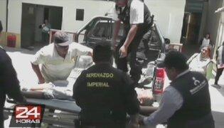 Sicarios asesinan a balazos a dos obreros de construcción civil en Cañete