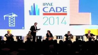 Paracas: inauguran Conferencia Anual de Ejecutivos - CADE 2014