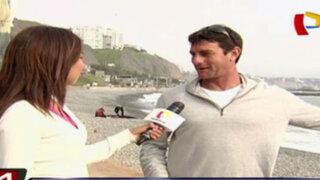 Denuncian que obras en Costa Verde afectan a la práctica del surf