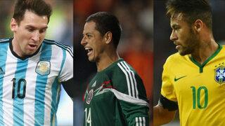 VIDEO: así fue la victoria de Brasil, Argentina y México en la fecha FIFA