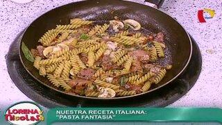 Conoce lo mejor de la comida italiana con una deliciosa 'Pasta fantasía'