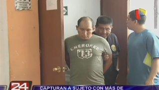 Capturan a sujeto con más de 70 kilos de droga en El Agustino