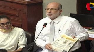 Abugattás y Tejada niegan lobby a favor de Martín Belaúnde en el Congreso