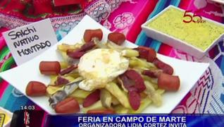 Feria de Todos los Santos presenta variedades de salchipapas por su día