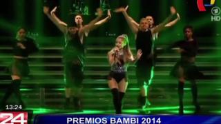 U2 y Ariana Grande fueron los reyes de la edición 2014 de los Premios Bambi