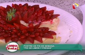 Aprenda cómo preparar un riquísimo 'Pie de limón y fresas'