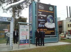 Súper Árbol: purificador del aire urbano