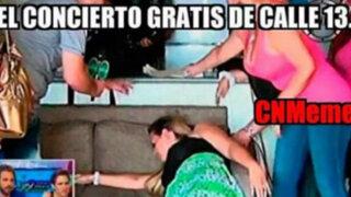 FOTOS: mira los memes que dejó el concierto de Calle 13 en la Plaza San Martín