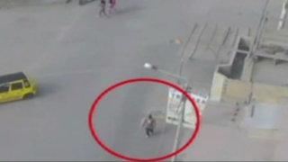 Chimbote: repartidor de gaseosas es atropellado por su propio camión