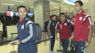 Selección paraguaya de fútbol aterrizó en Pisco