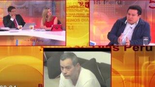 Empresario Giovanni Paredes cuestiona al presidente del Poder Judicial