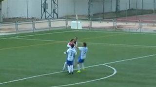 VIDEO: portero lloró desconsoladamente porque le hicieron un gol desde el arco rival