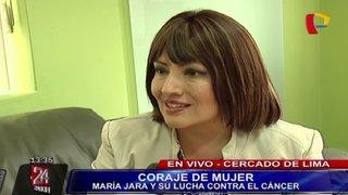 Coraje de mujer: María Jara habla de su lucha contra el cáncer de mama