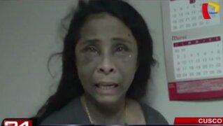 Cusco: mujer fue secuestrada y torturada por su ex pareja