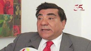 Víctor García Toma rechaza posible revisión de sentencias del TC